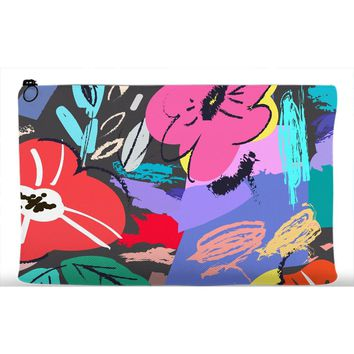 Mexico City Floral Accessory Pouch