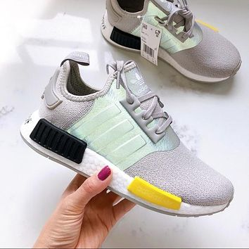 Adidas reflective NMD gym shoes