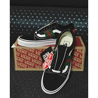 GUCCI x VANS Old Skool Black Sneaker