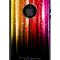 OTTERBOX Commuter iPhone 5 5S 5C 4/4s Case Multicolor Neon Light Streaks FASHION SERIES Collection