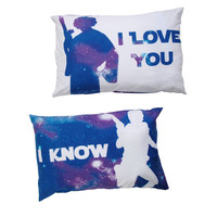 Star Wars I Love You Pillowcase Set