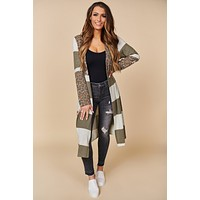 I Want It Duster Cardigan (Olive Mix)