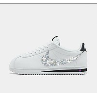 Custom Crystal Nike Cortez Womens