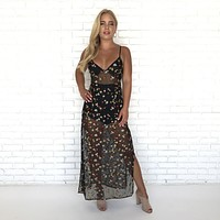 Sneak Peak Floral Maxi Dress