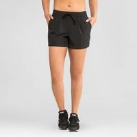 Women's Stretch Woven Shorts - Black - RBX