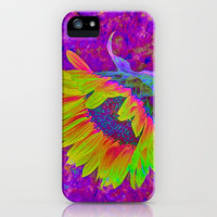 Sunflower Summer iPhone & iPod Case by Paul & Fe Photography
