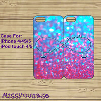 iphone 5S case,iphone 5C case,iphone 5S cases,cute iphone 5S case,cool iphone 5S case,iphone 5s cover--Anchor,Sparkle,Infinity,in plastic.