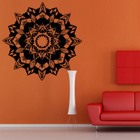 Wall decal decor decals mandala star eye symbol god India Buddhism universe religion The Rite east center (m601)
