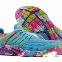 """Nike Air Presto"" Women Sport Casual Multicolor Camouflage Breathable Sneakers Running Shoes"