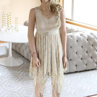 Dreamscape Dress in Sand