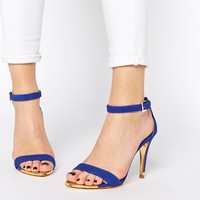 Ted Baker Juliennas Blue Barely There Sandals