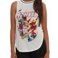 Marvel Action Girls Muscle Top