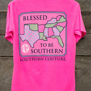 Blessed To Be Southern Tee | Southern Couture