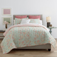 JCPenney Home™ Cotton Classics Jardin Quilt & Accessories - JCPenney