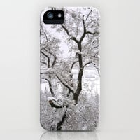 Winter Tree iPhone Case by Manverie | Society6