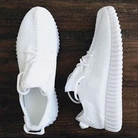 Adidas Yeezy Boost Fashion Women Running Sneakers Sport Shoes-2