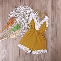 Stacy Lace Romper