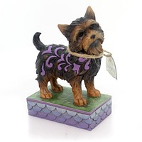 Jim Shore YORKSHIRE TERRIER Polyresin Pet Dog Friend Family 4056959