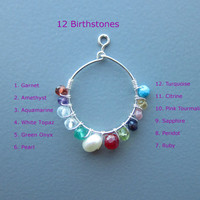 Personalized Silver Infinity Birthstone Bracelet, Infinity Love Chain Bracelet, Birthstone Bracelet, Bridesmaid Gift, Bridesmaid Bracelet