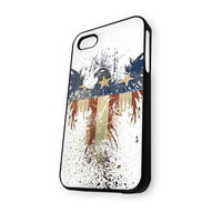 Abstract American Eagle Flag iPhone 5C Case