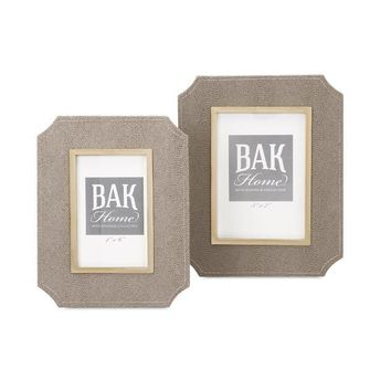 Beth Kushnick Photo Frames - Set of Two