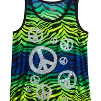 Flowy Animal Print Tank   Girls Tops Clearance   Shop Justice