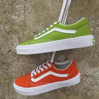 Vans Old Skool Canvas Flat Ankle Boots Sneakers Sport Shoes