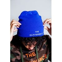 The Difference Beanie- Blue
