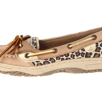 Sperry Top-Sider Kids Angelfish (Little Kid/Big Kid) Linen/Pink Leopard Nubuck - Zappos.com Free Shipping BOTH Ways