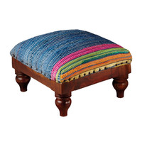 Under Spanish Rule Foot Stool