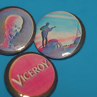 "3 Mac Demarco Viceroy VHS 1"" Pinback Button Set"