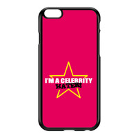 Celebrity Hater Black Hard Plastic Case for iPhone 6 Plus by Chargrilled