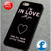 One Direction 1D Little Things Lyric (3) for iphone, ipod, samsung galaxy, HTC and Nexus Phone Case