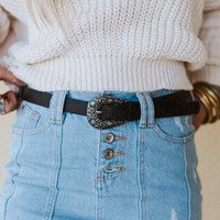 Gone West Belt - Black
