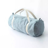 FREE SHIPPING New summer style canvas zipper travel bag luggage woman