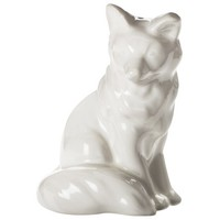 Threshold Stoneware Figural Salt Shaker Shell Fox