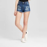 Women's Destructed Jean Shorts - Dollhouse (Juniors')