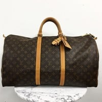 Louis Vuitton 'Keepall 55' Luggage
