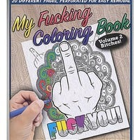 Curse Word Coloring Book Volume 2 - Spencer's