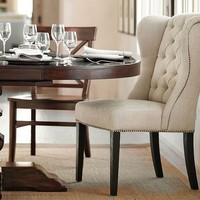 THAYER TUFTED WINGBACK CHAIR