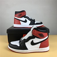Air Jordan 1 High Black Toe 36-47