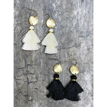 Talk Tassel To Me Earrings