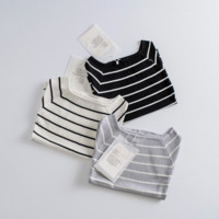 Fashion Bodycon Stripe Short Sleeve Knitwear Sweater Women Tops