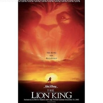 The Lion King Poster Movie 11x17 MasterPoster Print, 11x17