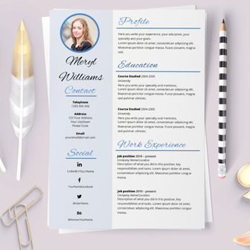 Best Resume Templates Products On Wanelo