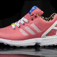 Adidas ZX Flux - (Checked Red/White) - ZXF002
