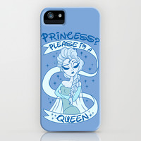 I am a Queen iPhone & iPod Case by LookHUMAN
