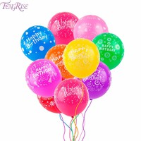 10pcs Latex Kids Birthday Decoration Balloons