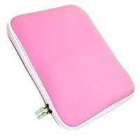 Cosmos Pink Neoprene/Cotton 13.3 Inch and 13 Inch Laptop notebook computer case/bag/sleeve