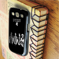 5 second of summer 5 SOS Music   For Samsung Galaxy S3 Cases   Free Shipping   AH0250